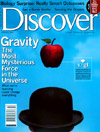 Cover of Discover Magazine, October 2003 edition
