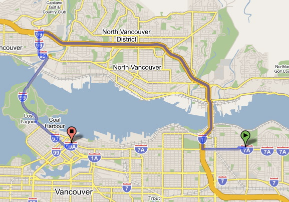 From Burnaby Heights to Downtown Vancouver